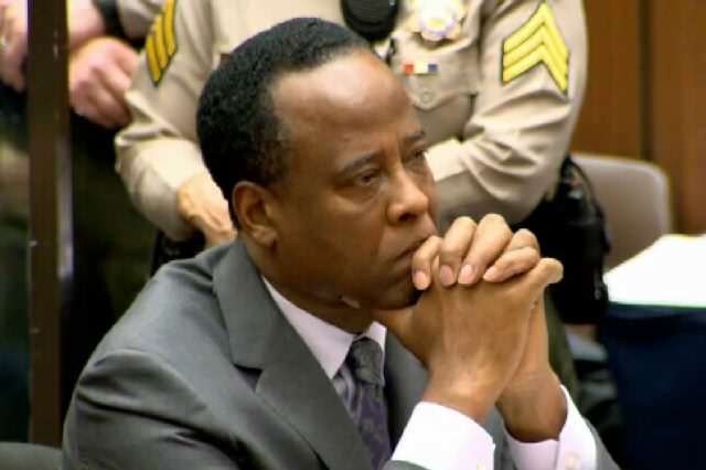 Conrad Murray Sentencing And Press Conference