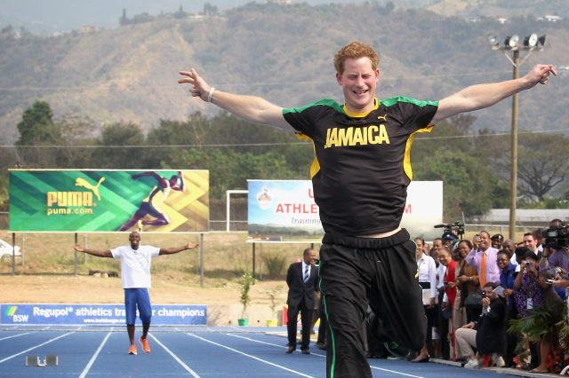 Prince Harry Challenges Usain Bolt In Twitter Tease GettyImages 140777660 640x426