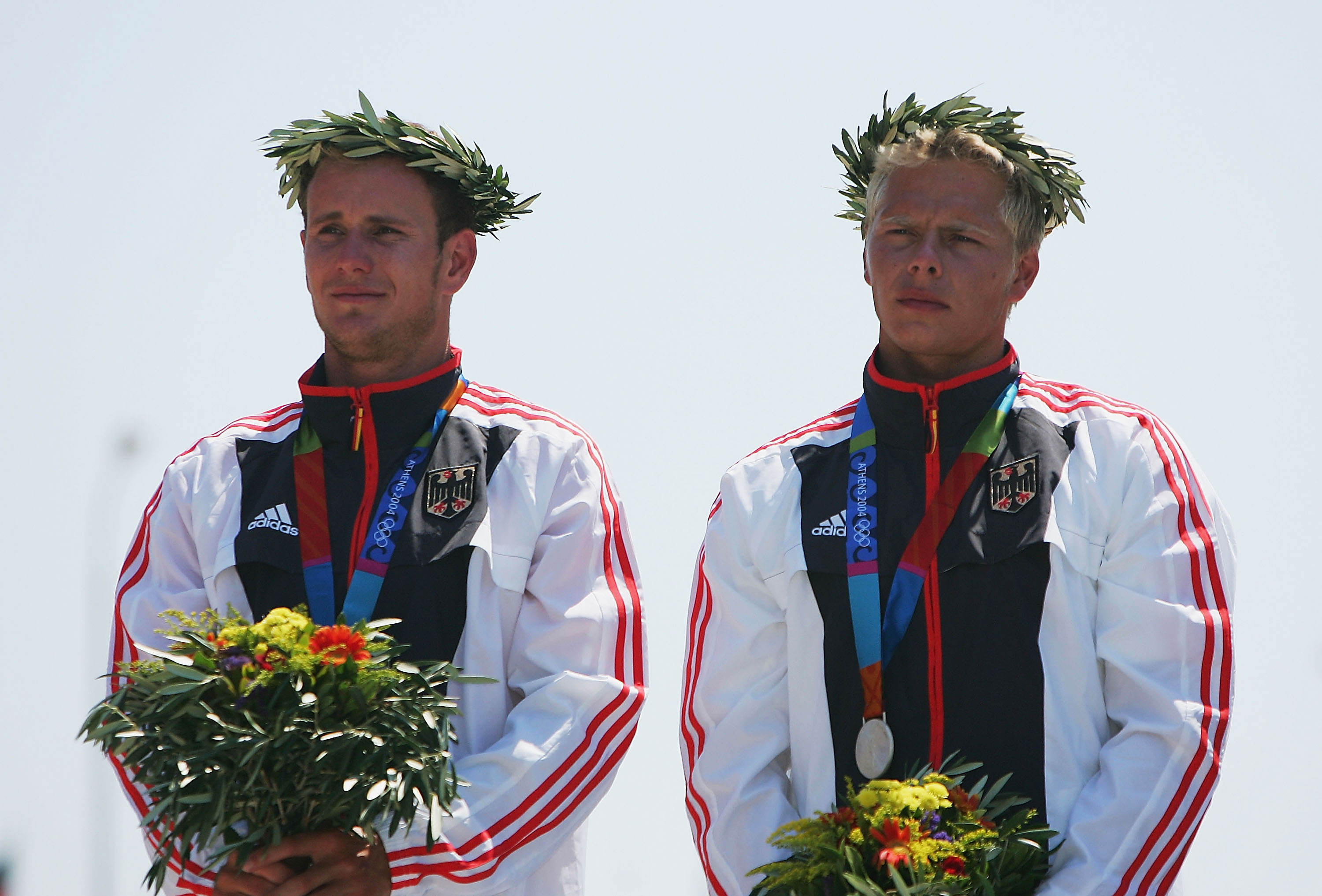 Mens C2 Slalom Double Medal Ceremony