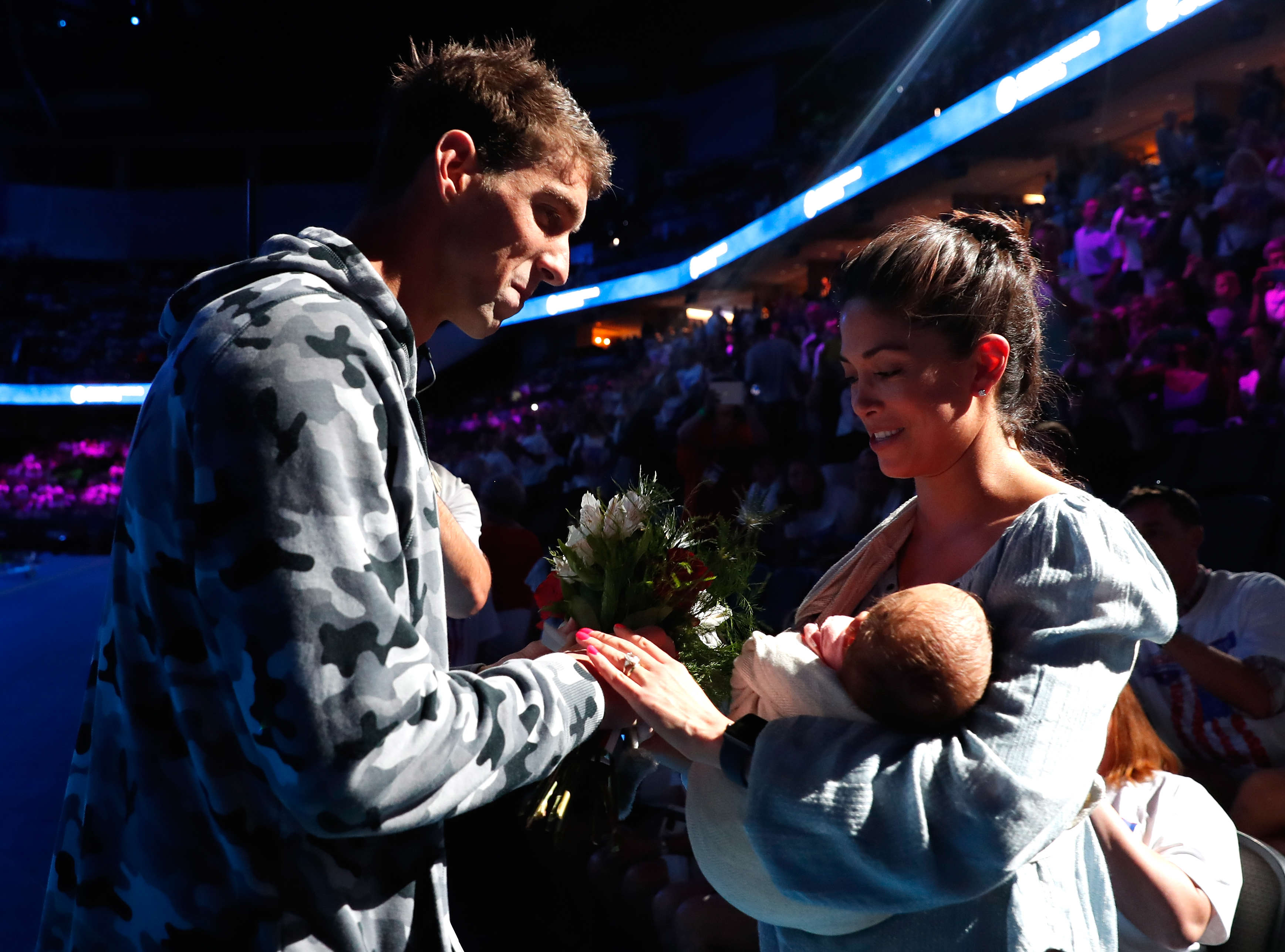 Michael Phelps Alleged Intersex Ex Goes On Facebook Rant GettyImages 544218330