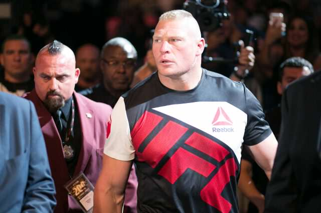 Conor McGregor Throws Serious Shade At WWE And Brock Lesnar GettyImages 547105770 640x426