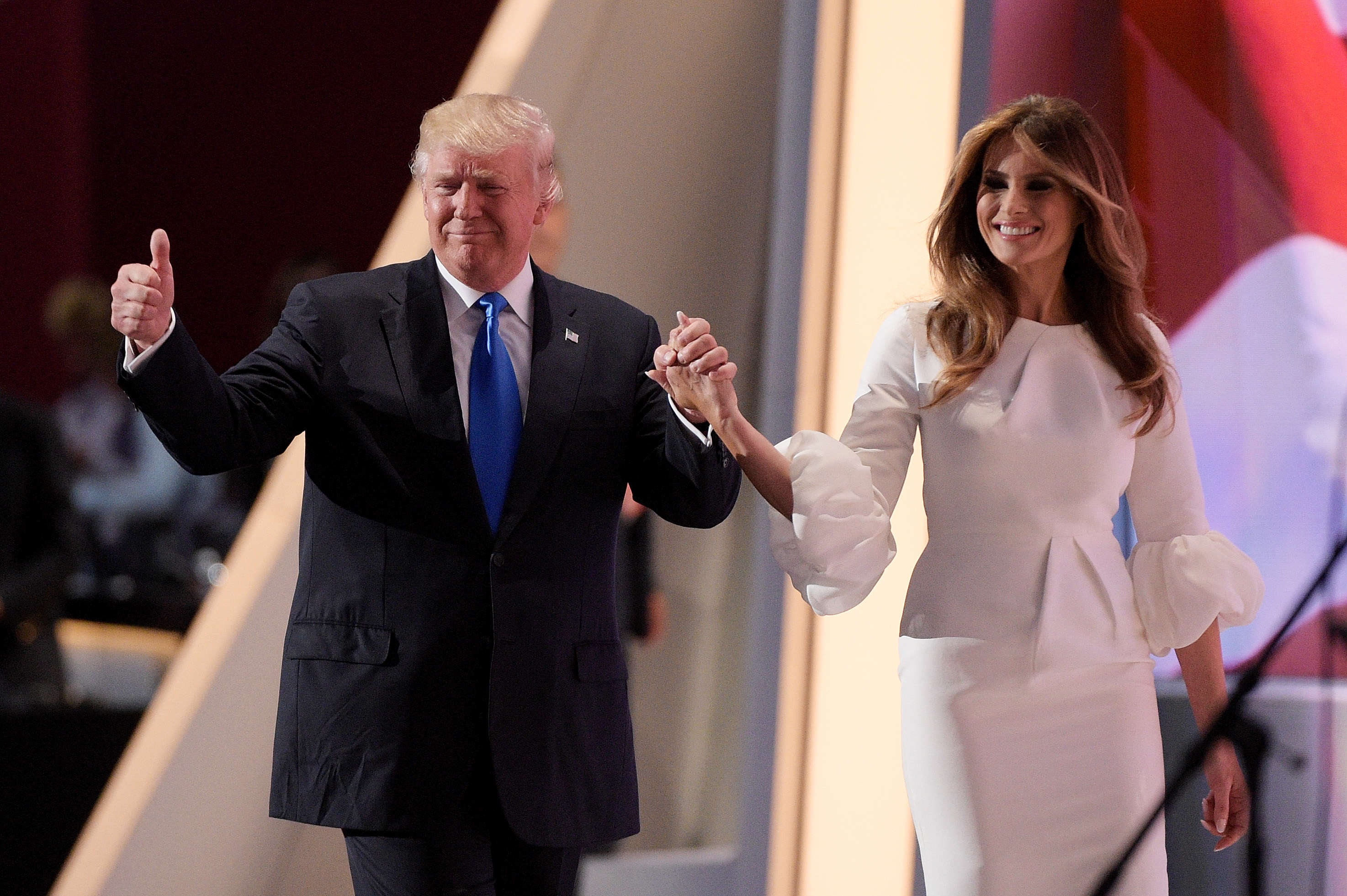 Did Donald Trump Leak Wifes Nude Photos To Help With Campaign? GettyImages 577293562