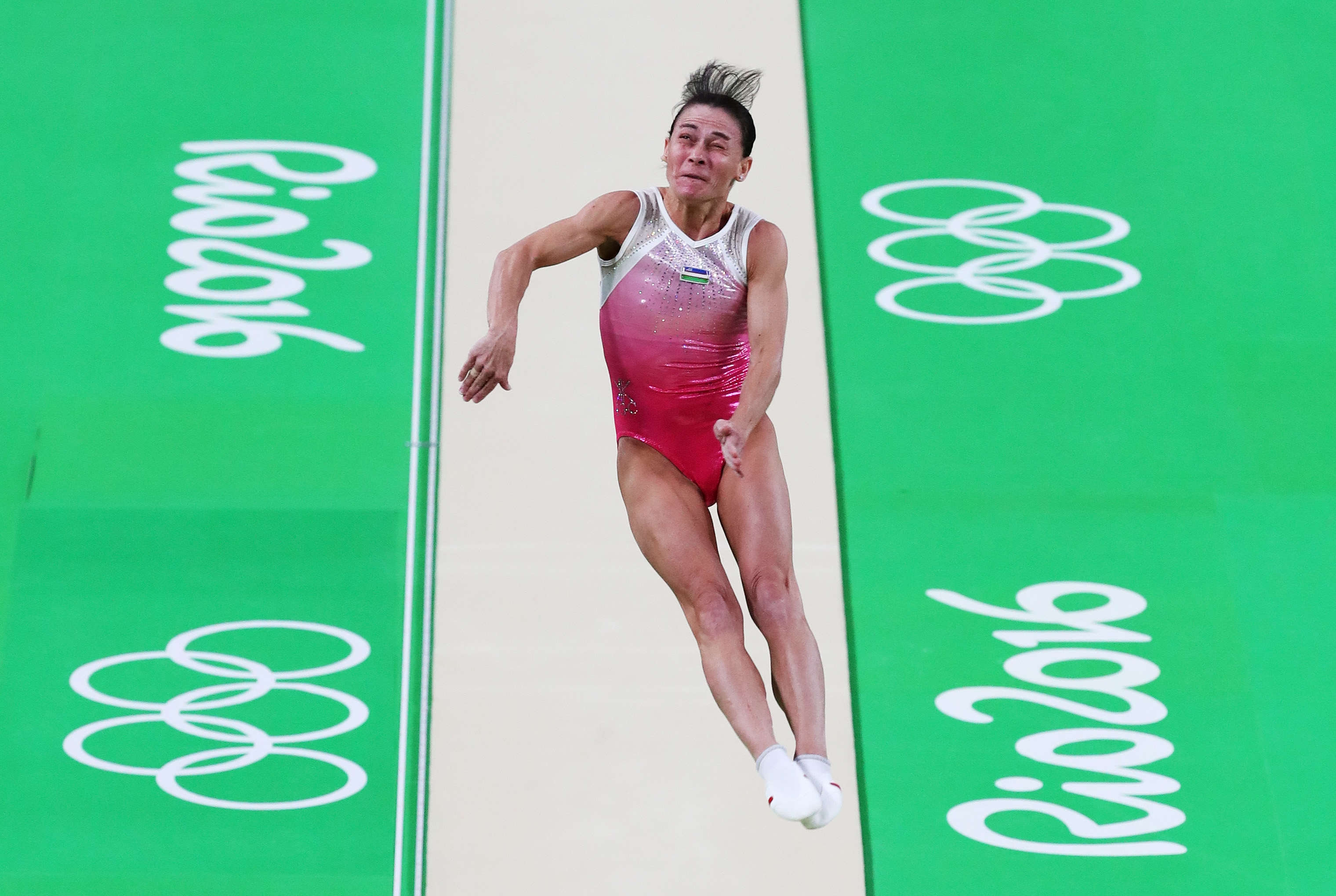 This 41 Year Old Olympic Gymnast Keeps Competing For Inspirational Reason GettyImages 586885438