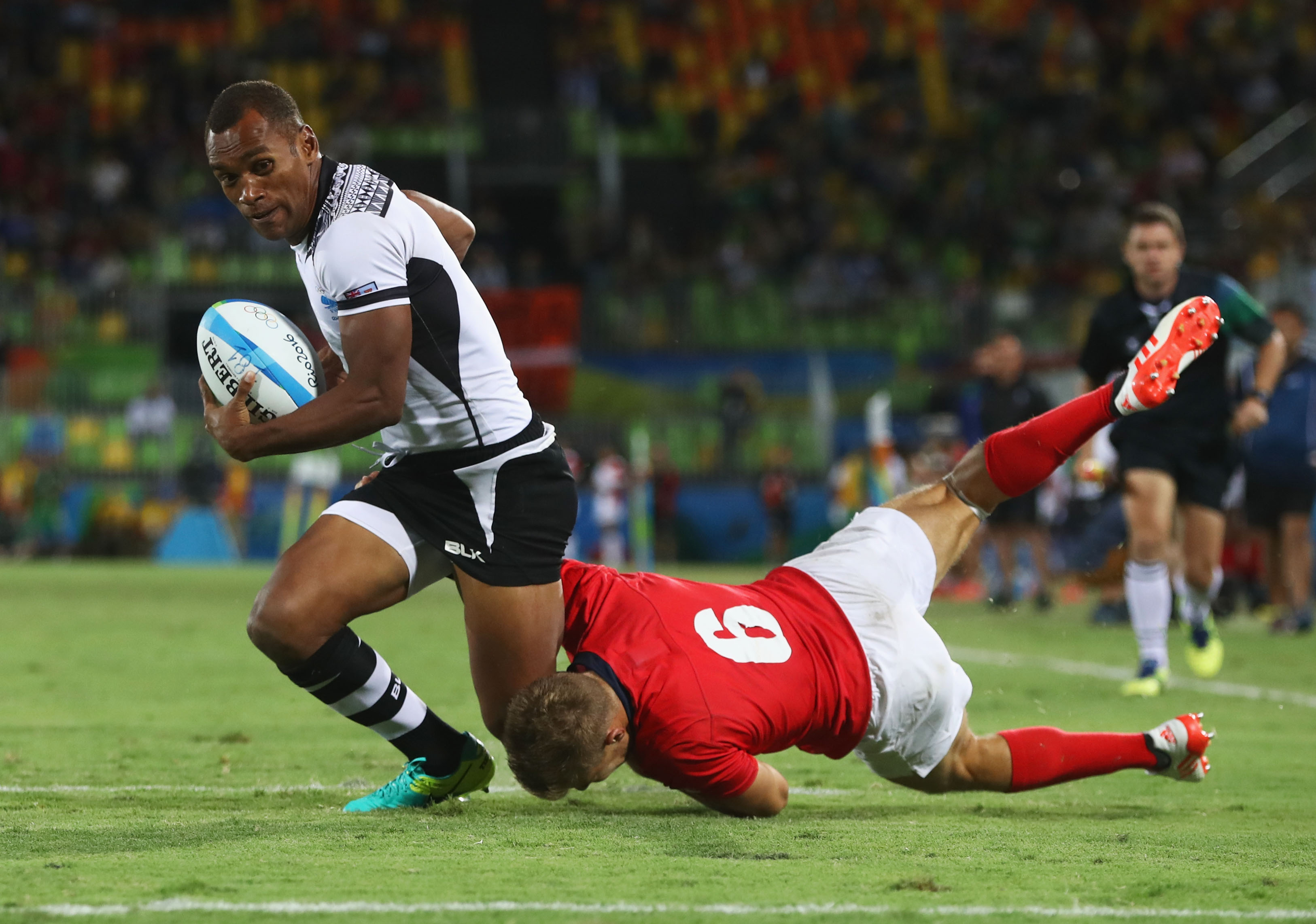 Fiji Wins First Gold Medal Ever, Country Loses It GettyImages 588558022