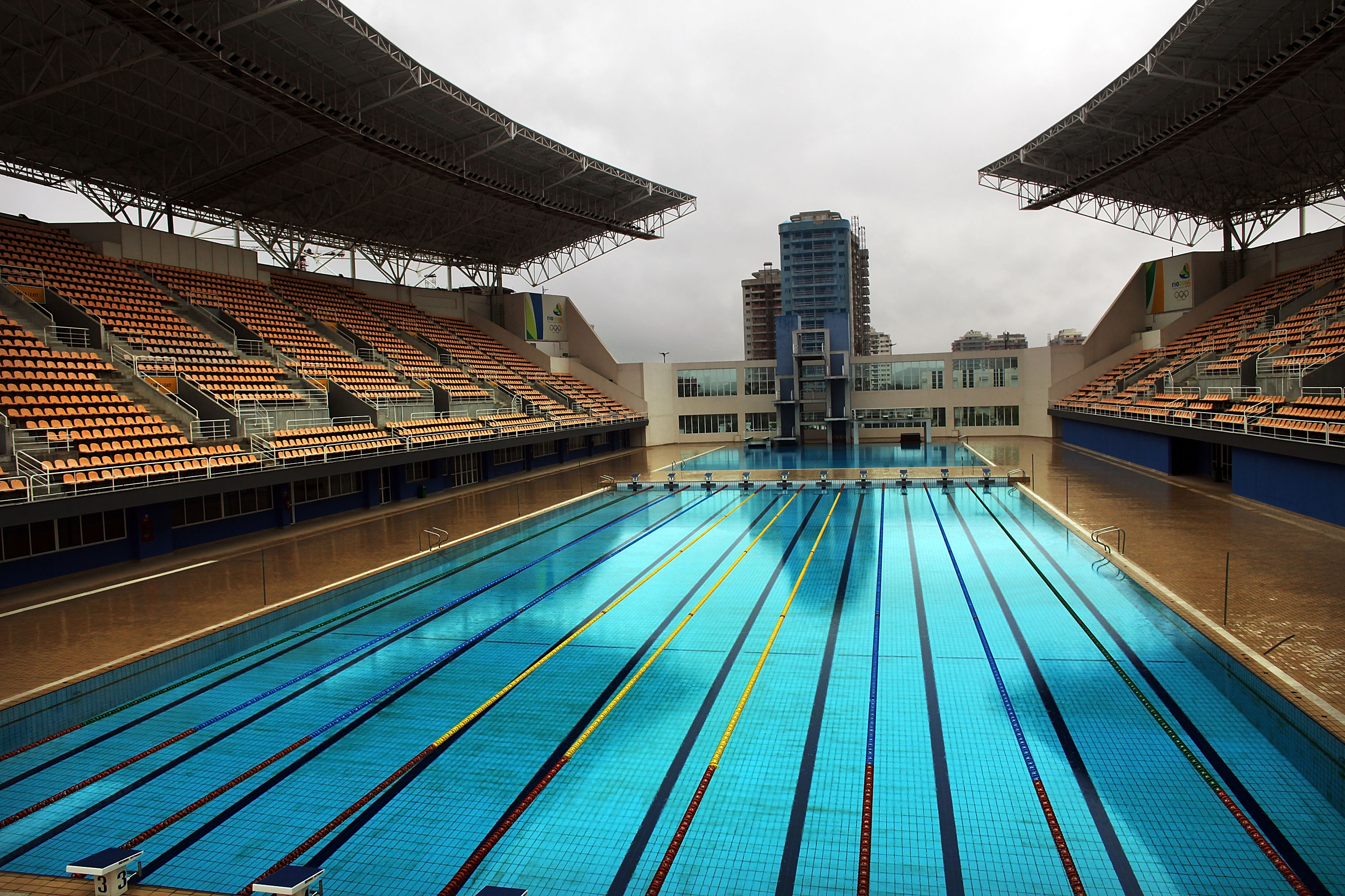 theres a massive conspiracy theory about the rio olympic pool gettyimages 94265820 - Olympic Swimming Pool 2016