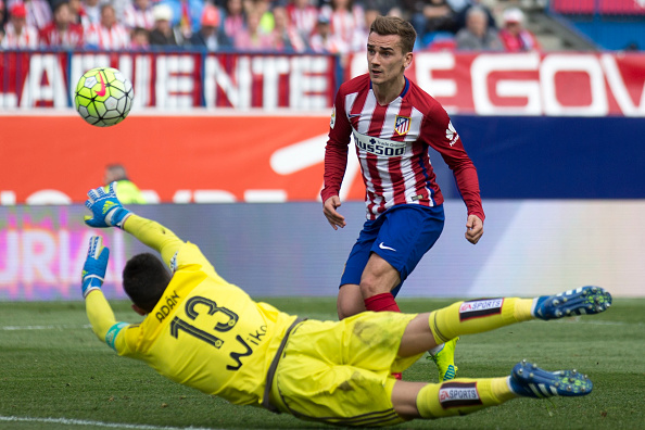 Antoine Griezmann Hints At Premier League Move In Future Griezmann Atleti Getty