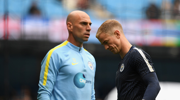 Barcelona Set To End Harts Manchester City Nightmare Hart Caballero Getty