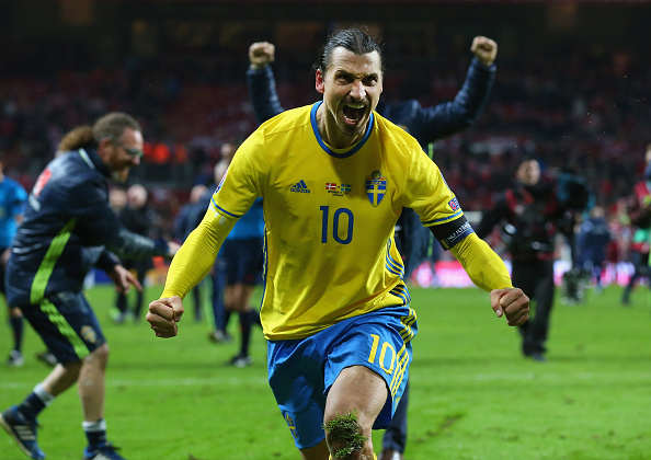 Zlatan Gushes About Teammate, Footballs Newest Bromance Has Arrived Ibra Getty 2