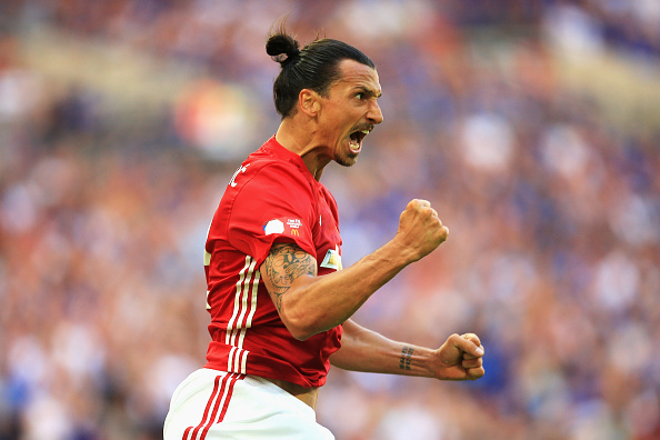 Zlatan Makes Incredible Gesture For Uniteds Young Stars Ibra Getty Community Shield 1