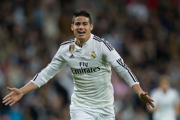 Liverpool Join Chelsea And Arsenal In Chase For £50 Million Man James Rodriguez Madrid Getty 1