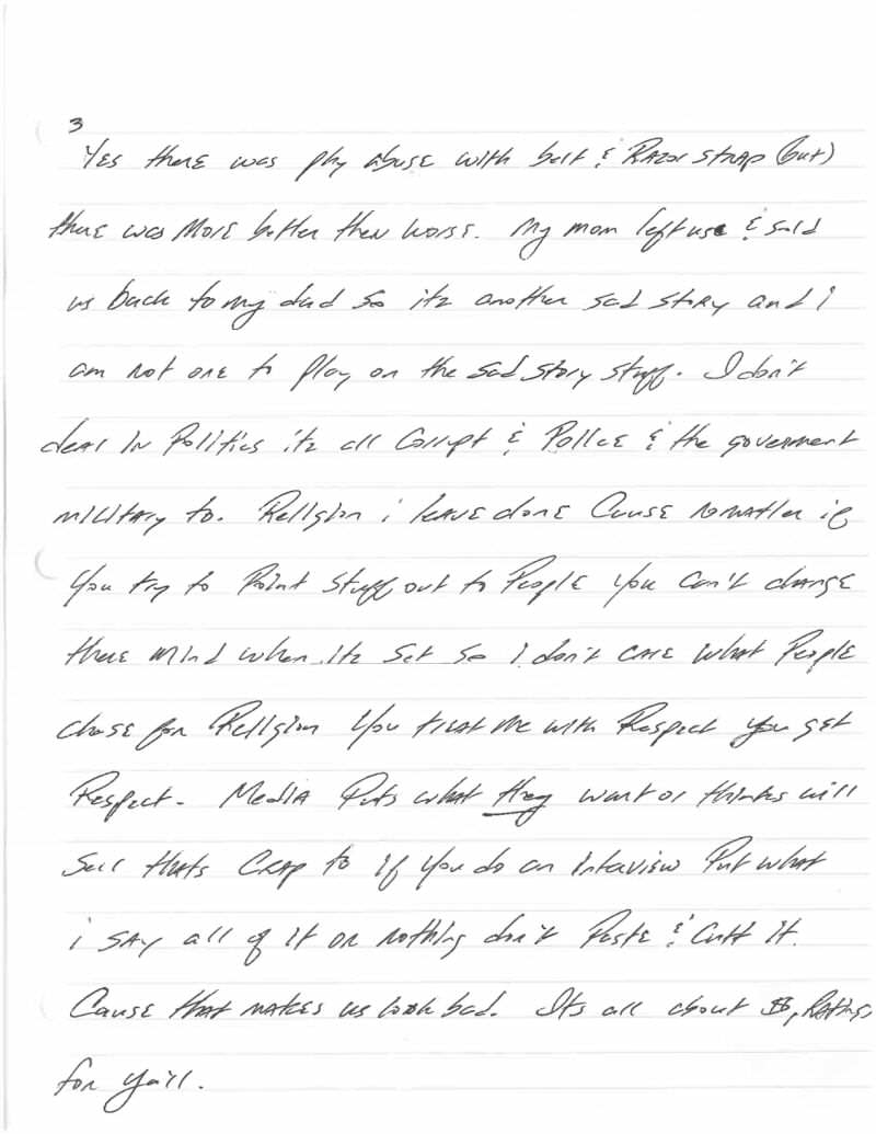 This Harrowingly Depressing Letter Reveals The Reality Of Death Row Jeff Wood Letter 3