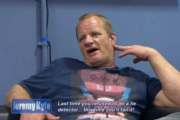 Jeremy Kyle Guest Dragged Away By Security After Getting Violent Last time you refused to do a lie detector this time youll fail it 2