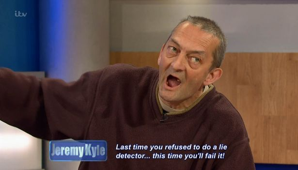 Jeremy Kyle Guest Dragged Away By Security After Getting Violent Last time you refused to do a lie detector this time youll fail it
