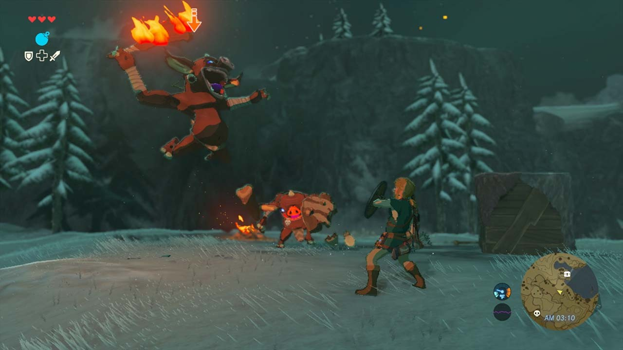 Zelda: Breath Of The Wild Highlights Some Awesome Weapons In New Trailer Legend of Zelda Breath of the Wild Screenshots 10 1280x720