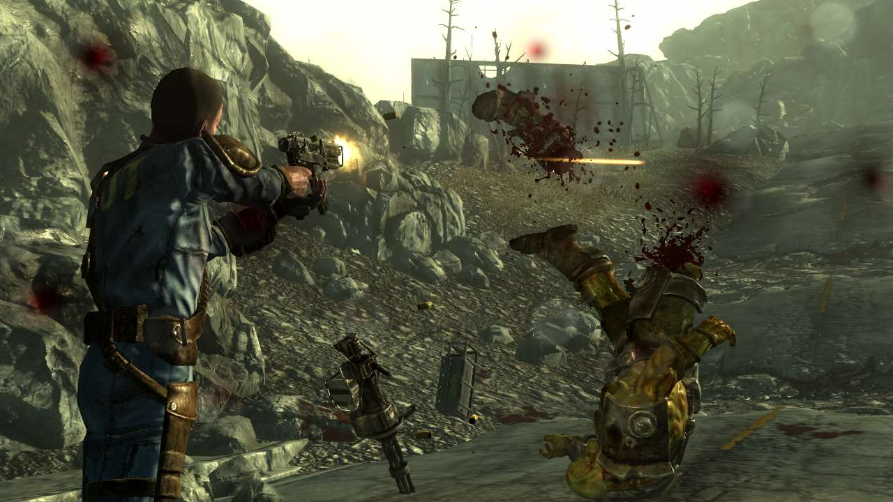 Bethesda Humble Sale Hits, Host Of Games Discounted Lone Wanderer SMG