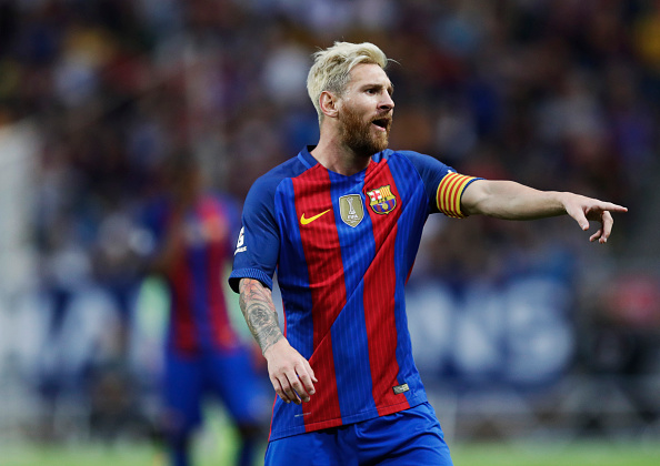 Messi Fanboy Brutally Taken Out By Massive Security Guard Messi Getty