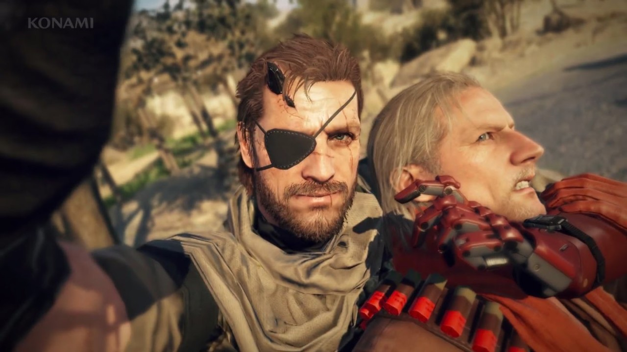 Metal Gear Solid 5: The Definitive Experience Officially Announced Metal Gear Solid V 1280x720