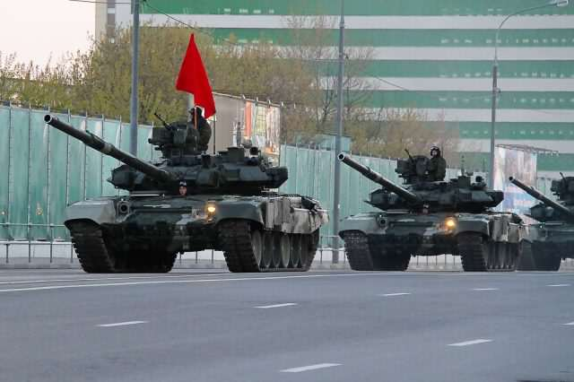 Fears Of Russian Invasion As Putin Masses Tanks On Europes Doorstep Modern T 90 tank of the Russian Army 640x426