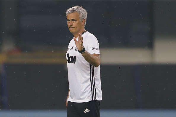 Manchester United Star Claims Hes Willing To Fight For Future Mourinho Getty Training