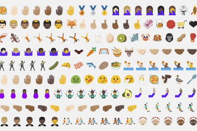 Android 7.0 Nougat Begins Rolling Out To Nexus Devices New Emoji 640x426