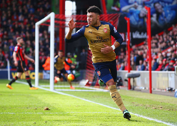 Arsenal Forward Desperate To Reinvent Himself To Save Career Oxlade Chamberlain Getty