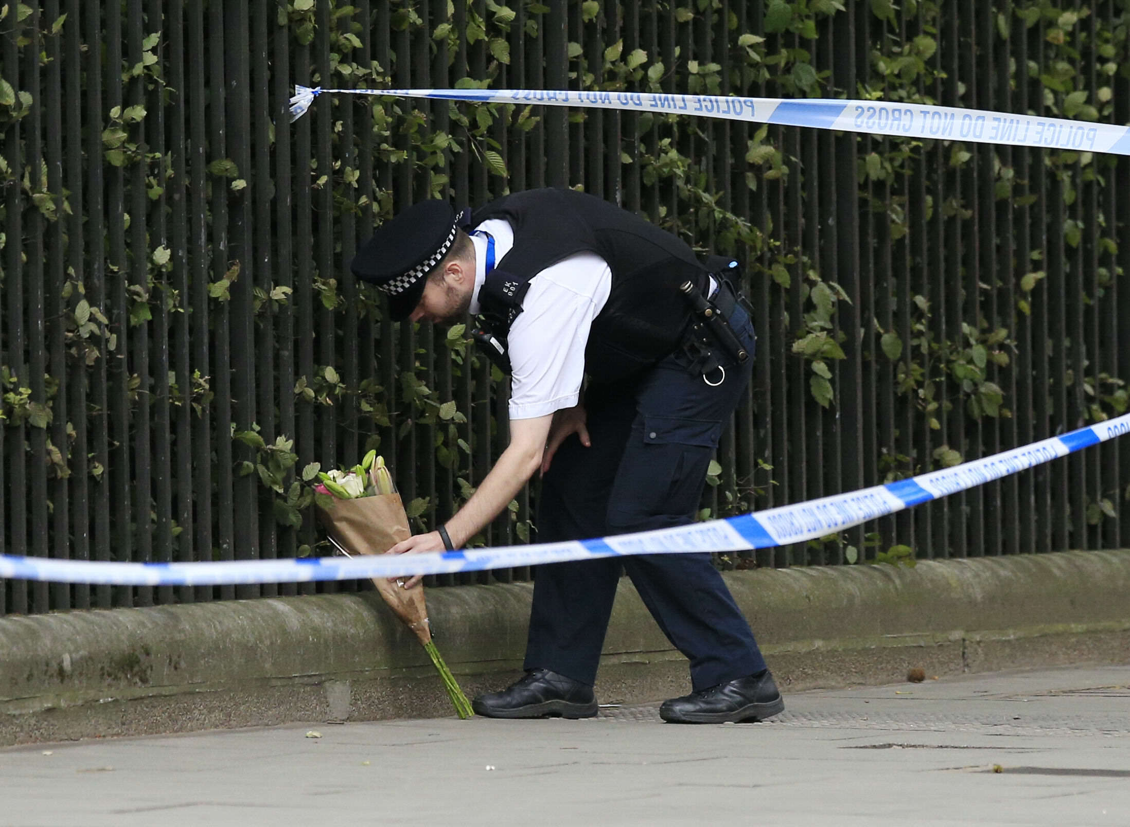 Knife attack in central London