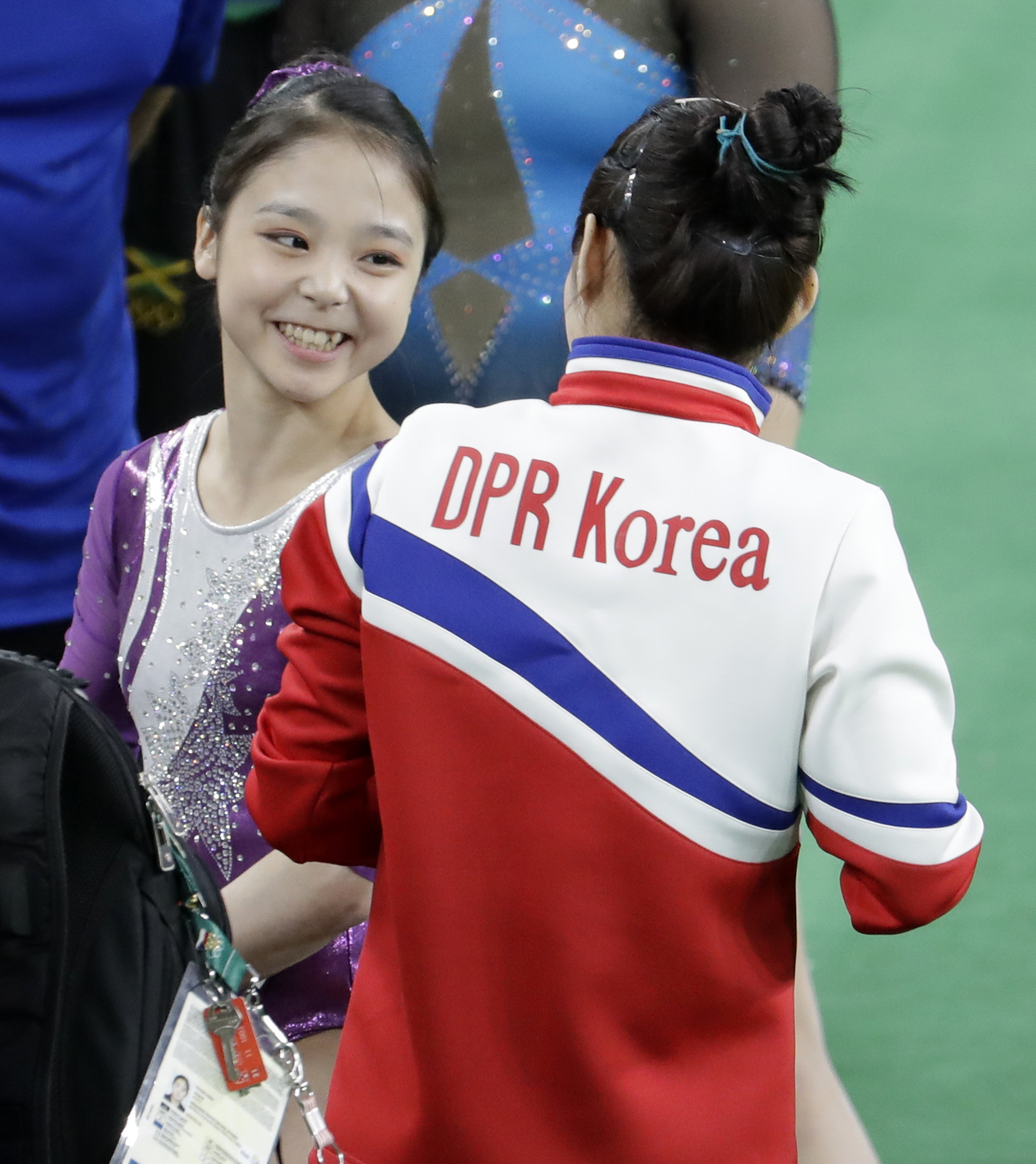 Olympics Brings North And South Korean Athletes Together For Iconic Selfie PA 28261514