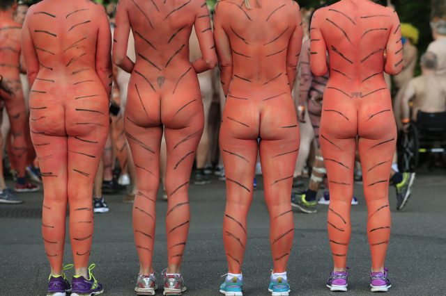 These People Just Ran Naked Through London Zoo For Incredible Reason PA 28319360 640x426