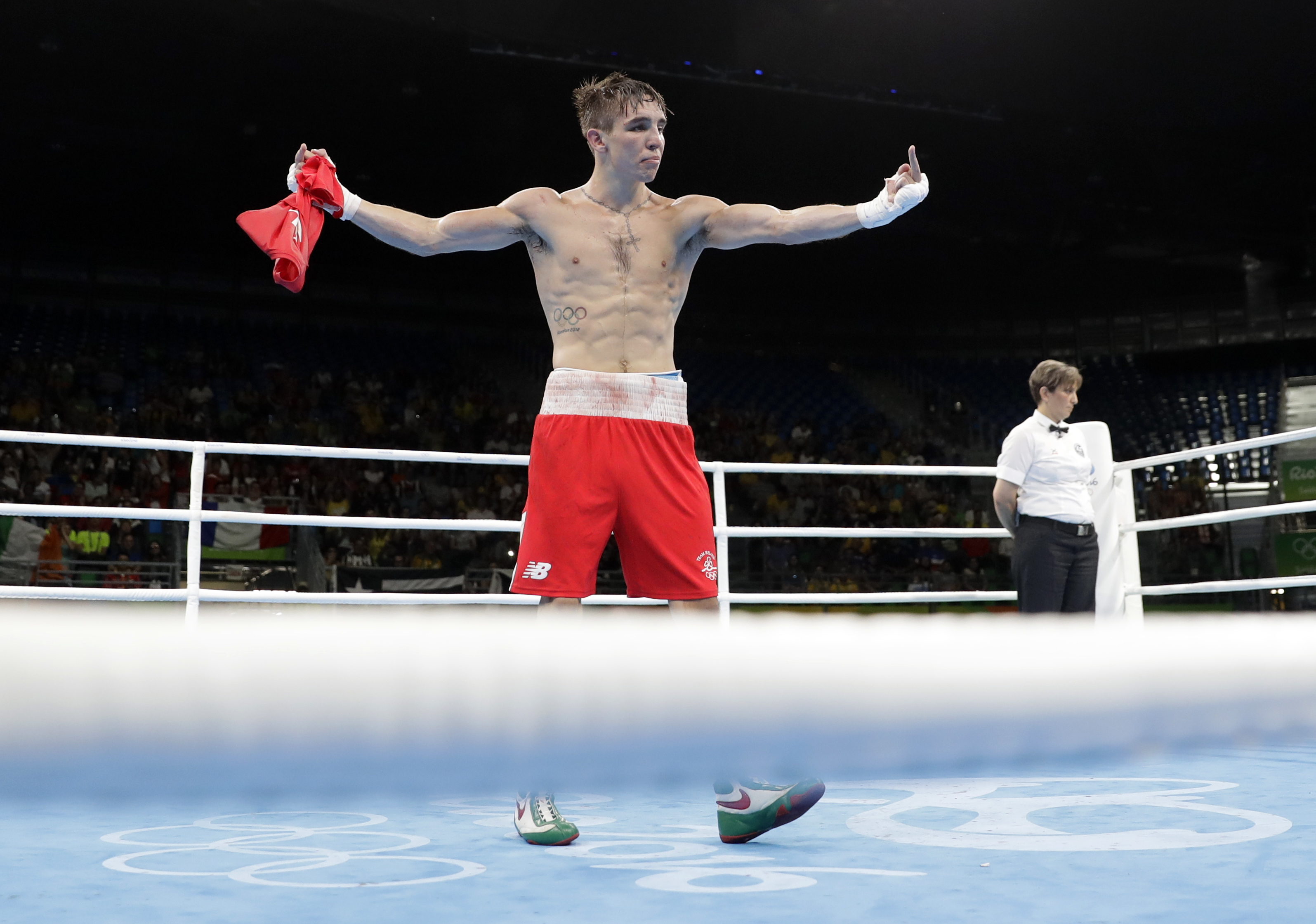 Boxing Statisticians Reveal Whether Michael Conlan Shouldve Won Yesterday PA 28377515
