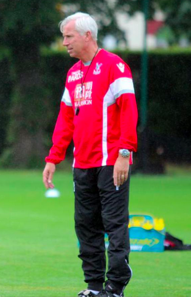 Pardew training gear