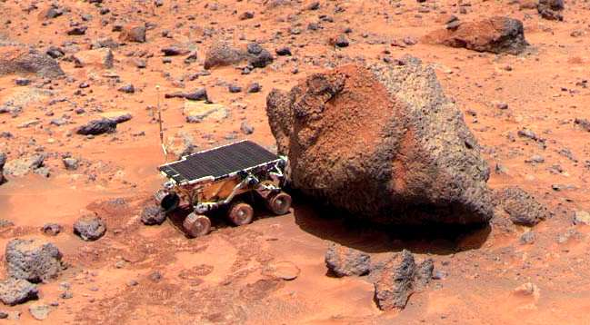 New Evidence May Have Confirmed Life On Mars Pathfinder01