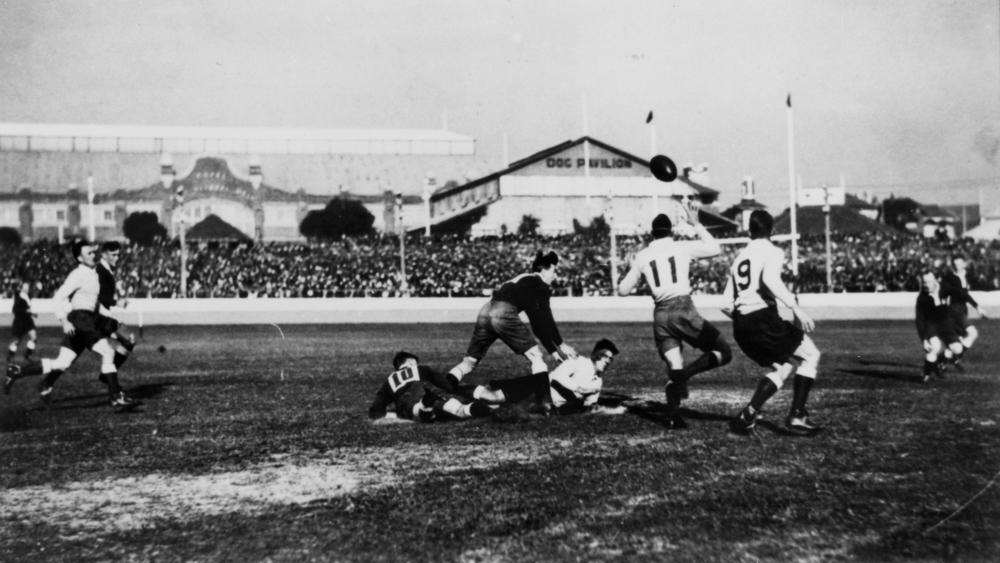 Fiji Wins First Gold Medal Ever, Country Loses It Queensland vs New South Wales ca. 1920 Brisbane