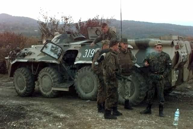 Meet The First Line Of Defence Against The Threat Of Russian Invasion Russian Army Bosnia 640x426
