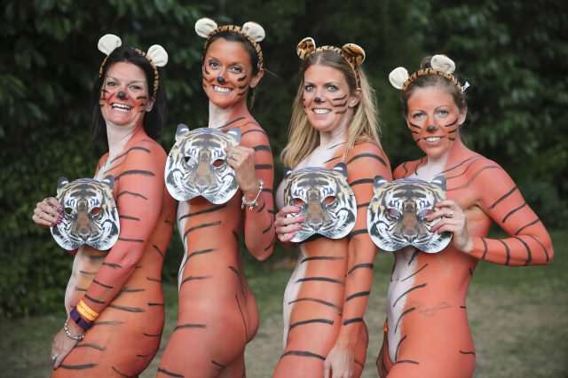 These People Just Ran Naked Through London Zoo For Incredible Reason SWNS NAKED ZOO 008 640x426