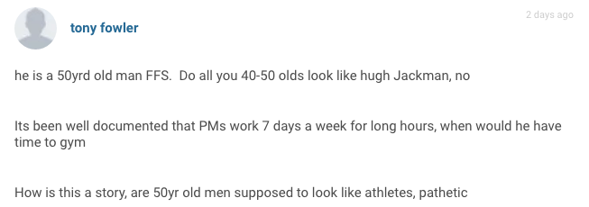 The Sun And Daily Mail Body Shame David Cameron, Commenters Are Furious Screen Shot 2016 08 05 at 11.13.56