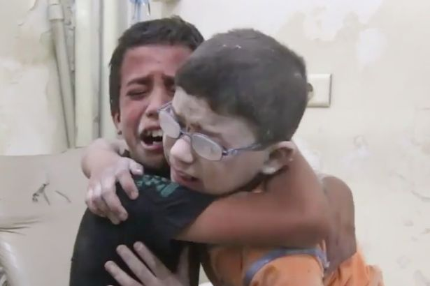 Heartbreaking Video Shows Boys Grieving Brother Lost In Syria Airstrike Screen Shot 2016 08 25 at 183501