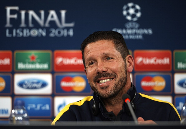 Club Atletico de Madrid Press Conference - UEFA Champions League Final