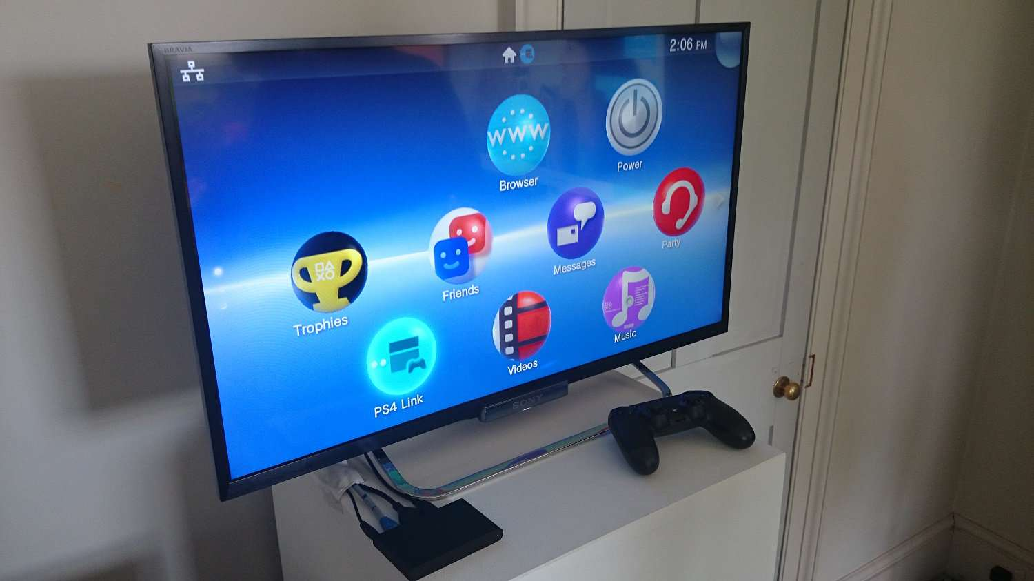 PS Vita Hacked To Become Portable Emulator Sony PlatStation TV homescreen