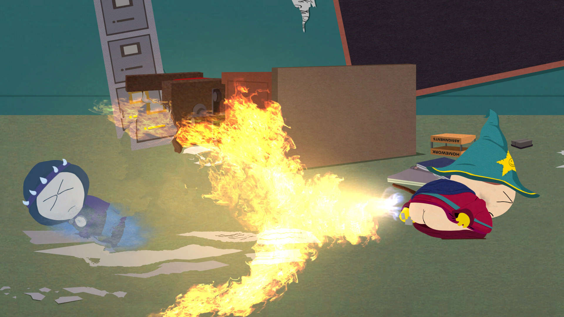 South Park Games VR Fart Simulator Looks Incredible South Park Stick of Truth 01