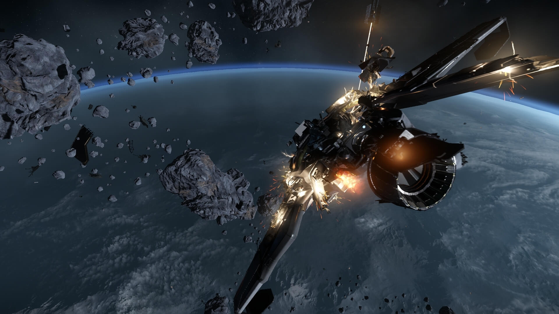 Star Citizen Looks Absolutely Astonishing In New Gameplay Demo Star Citizen Ship Exp