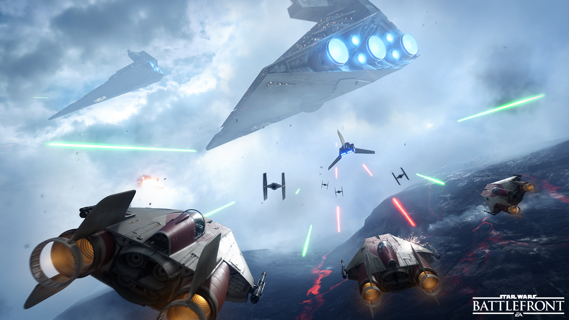 Star Wars Battlefront VR Will Tie Into Upcoming Movie Star Wars Battlefront 1
