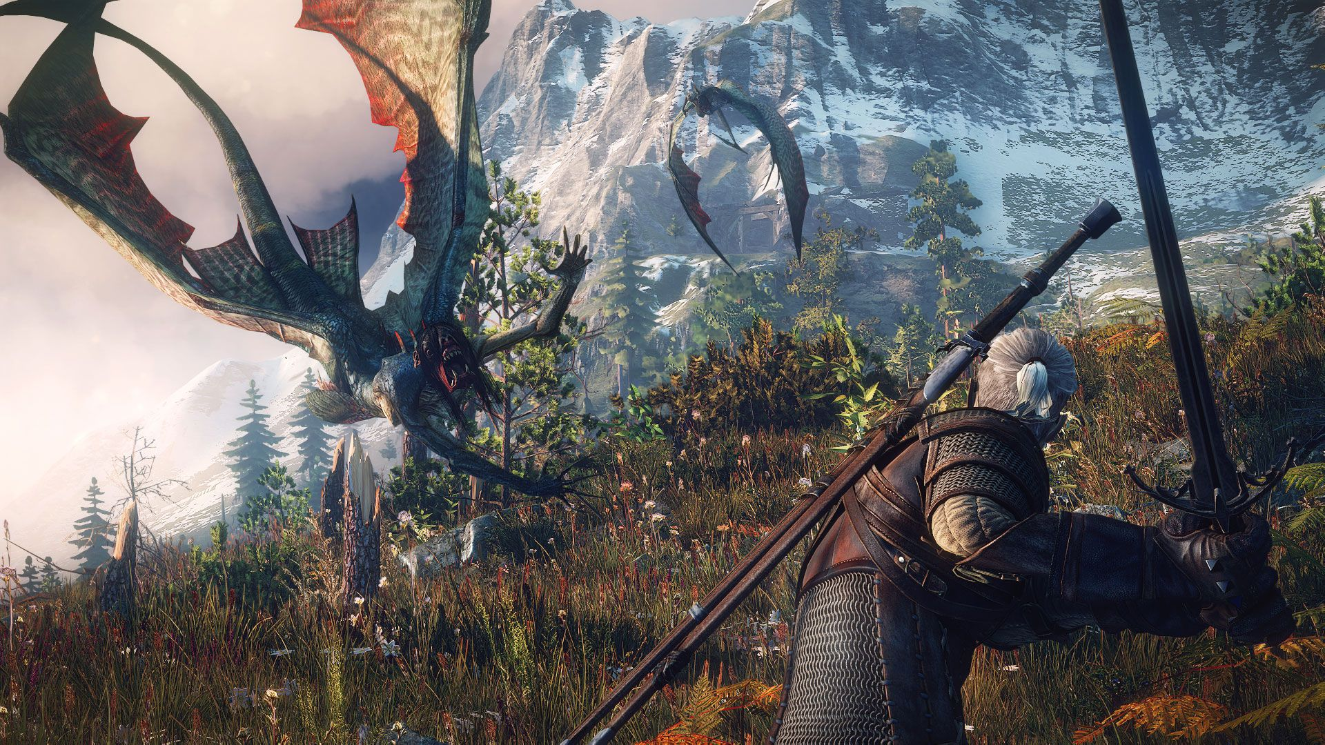 Witcher 3 Behind The Scenes Video Highlights Music And Sound Effects The Witcher 3 Wild Hunt The sirens may look beautiful in the water but once they re out of it they change into deadly flying creatures..0 1