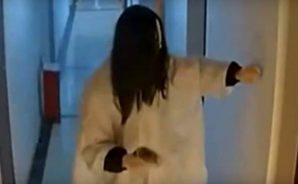 This Creepy Ghost Keeps Doing Disgusting Things To Womans Door Untitled