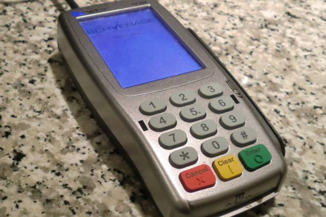 Hackers Have Worked Out How To Make ATMs Spit Cash VeriFone credit card terminal Servebase 640x426