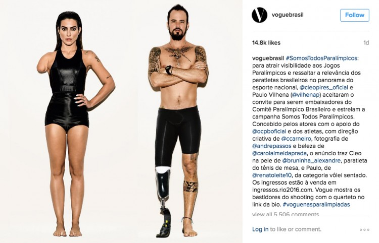 Paralympians Have Been Left Outraged By These Photos Vogue Brasil 750x482