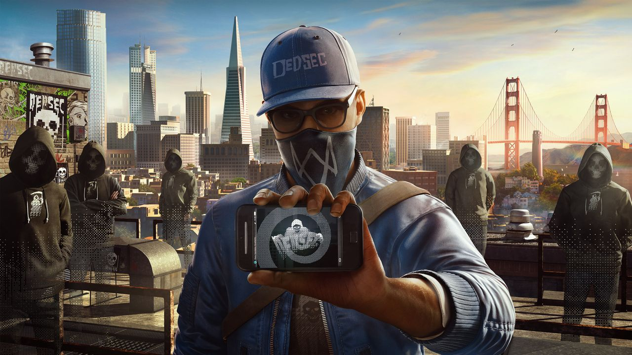 New Watch Dogs 2 Footage Highlights Open World Multiplayer Mayhem WD2 art marcusrooftop e3 160613 230pm 1465823196.0.0