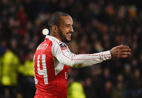 Arsenal Forward Desperate To Reinvent Himself To Save Career Walcott Getty 2