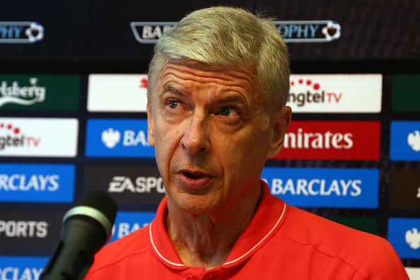 Arsenal Priced Out Of Move For Top Target As Disastrous Summer Continues Wenger Getty Presser