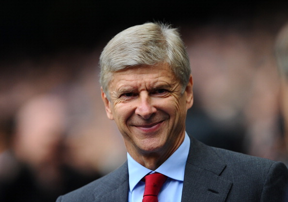 Arsenal Set For Good News As Wenger Closes In On Class Defender Wenger Getty Smile