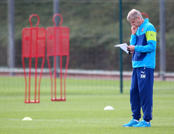 Arsenal Find New Target As Defender Search Hits New Low Wenger Getty Training 1